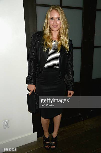 Actress Levin Rambin attends the 'Seduced And Abandoned' LA screening at Clarity Theater on October 22 2013 in Beverly Hills California