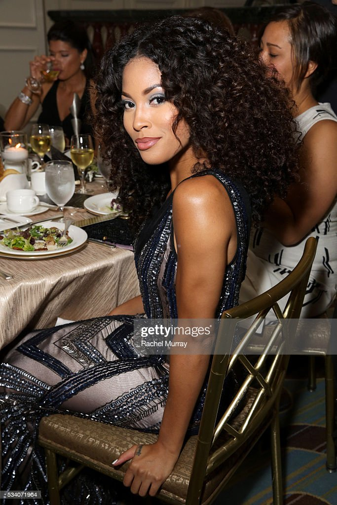 Actress Lex Scott Davis attends the 41st Annual Gracie Awards at Regent Beverly Wilshire Hotel on May 24, 2016 in Beverly Hills, California.