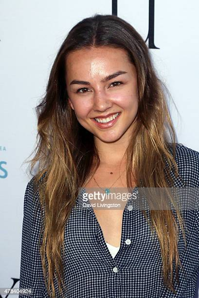 Actress Lexi Ainsworth attends the world premiere screening of the documentary 'Unity' at the DGA Theater on June 24 2015 in Los Angeles California