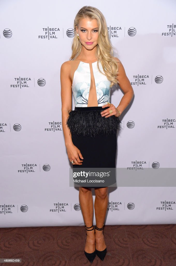 Actress Lexi Atkins attends the 'Zombeavers' Premiere during the 2014 Tribeca Film Festival at Chelsea Bow Tie Cinemas on April 19, 2014 in New York City.