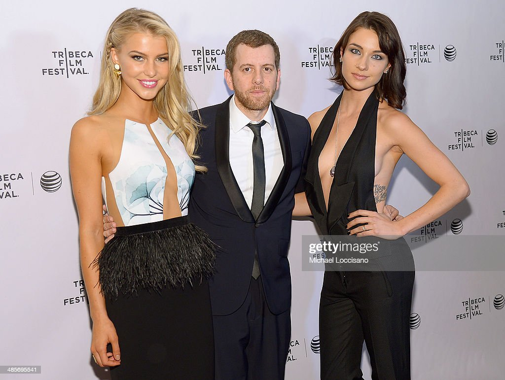 Actress Lexi Atkins, director Jordan Rubin and actress Cortney Palm attend the 'Zombeavers' Premiere during the 2014 Tribeca Film Festival at Chelsea Bow Tie Cinemas on April 19, 2014 in New York City.