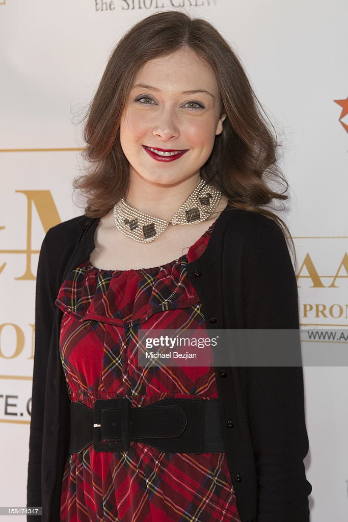Actress Lexie Hofer attends 'The Shoe Crew' Holiday Launch Party & Charity Benefit at The Joint on December 15, 2012 in Los Angeles, California.