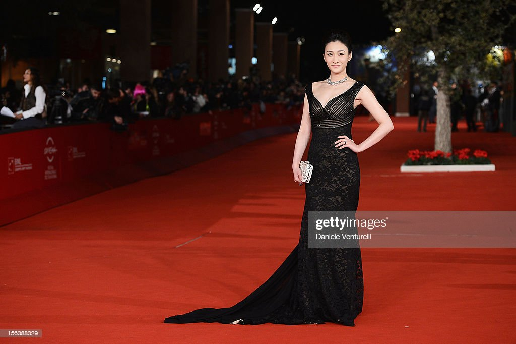 Actress Li Xiaoran attends the 'Bullets To The Head' Premiere during the 7th Rome Film Festival at the Auditorium Parco Della Musica on November 14, 2012 in Rome, Italy.