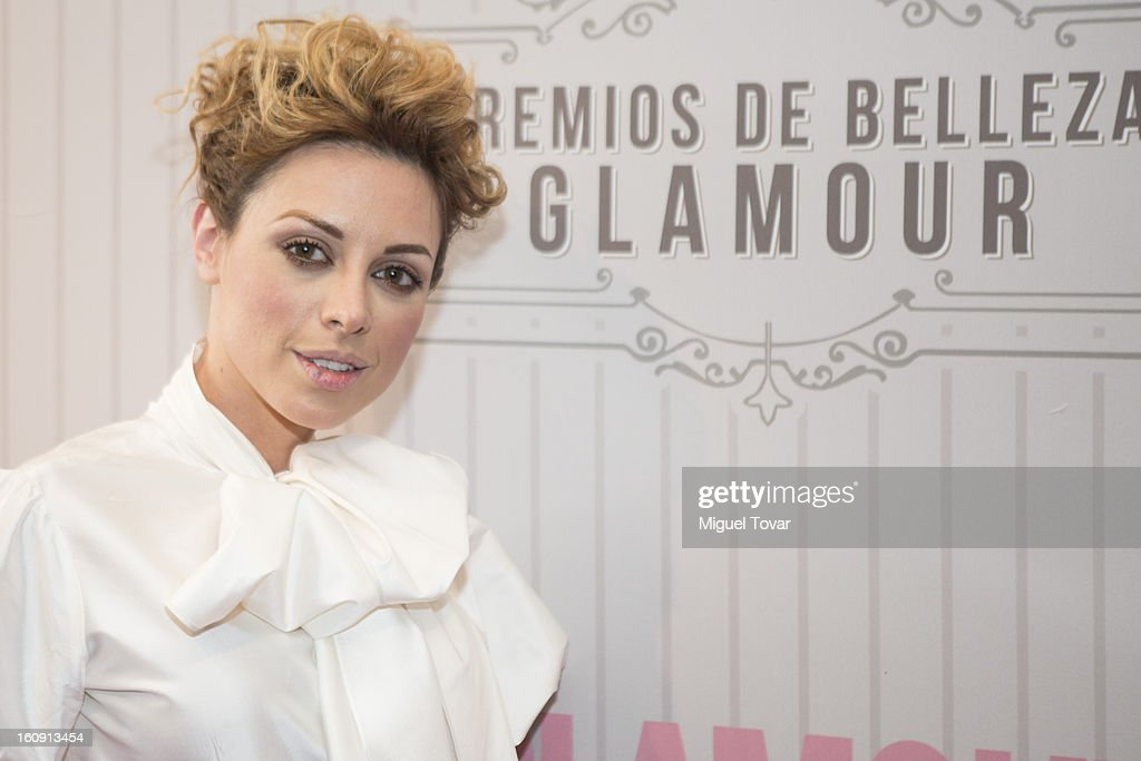 Actress Lia Ferrer attends the 'Glamour Magazine Beauty Awards' at Indianilla cultural center on February 7, 2013 in Mexico City, Mexico.