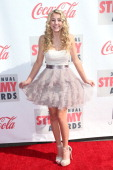 Actress Lia Marie Johnson attends the 3rd Annual Streamy Awards at Hollywood Palladium on February 17 2013 in Hollywood California
