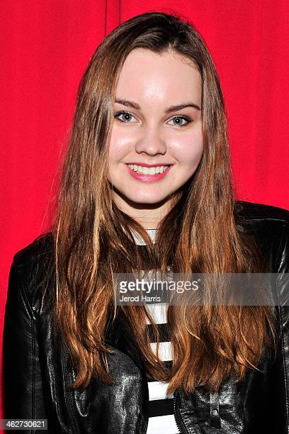 Actress Liana Liberato attends a special screening of 'Free Ride' at Arena Cinema Hollywood on January 14 2014 in Hollywood California