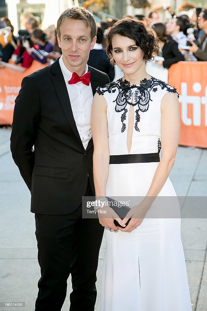 Actress Liane Balaban (R) and guest attend 'The Grand Seduction' premiere during the 2013 Toronto International Film Festival at Roy Thomson Hall on September 8, 2013 in Toronto, Canada.