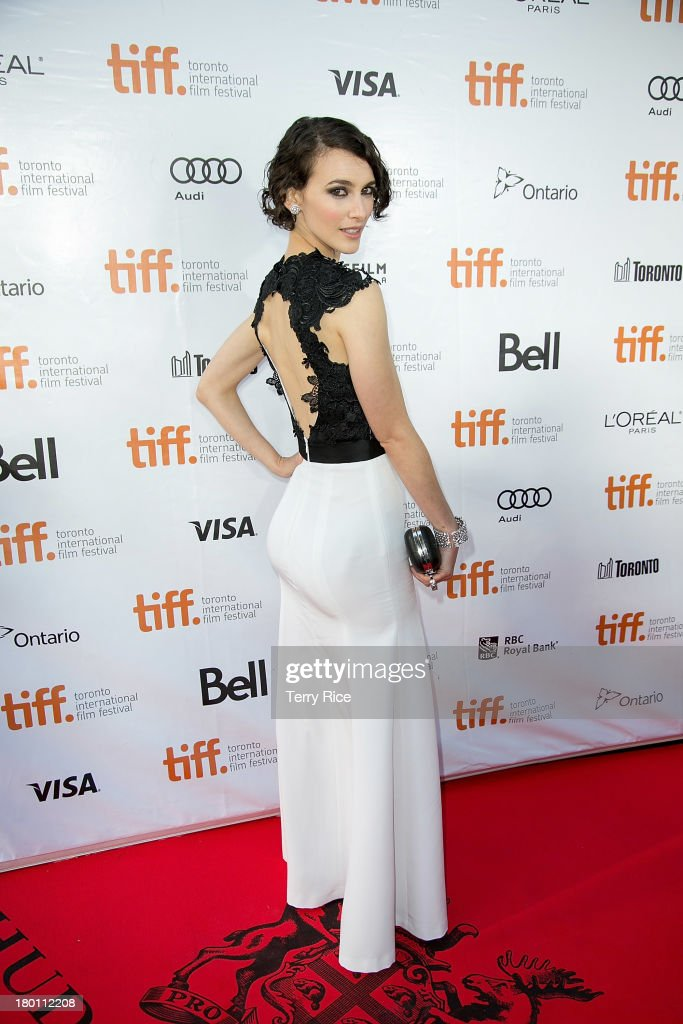 Actress Liane Balaban attends 'The Grand Seduction' premiere during the 2013 Toronto International Film Festival at Roy Thomson Hall on September 8, 2013 in Toronto, Canada.