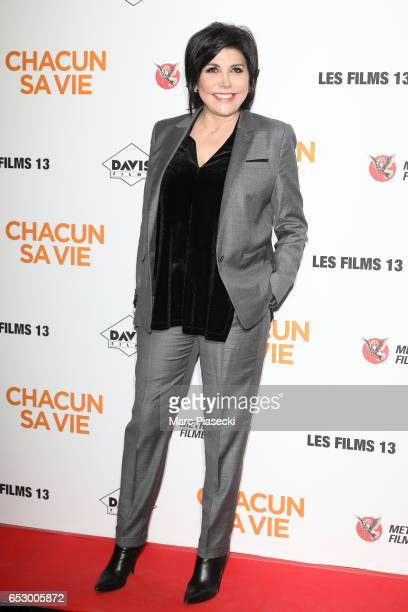 Actress Liane Foly attends the 'Chacun sa vie' Premiere at Cinema UGC Normandie on March 13 2017 in Paris France