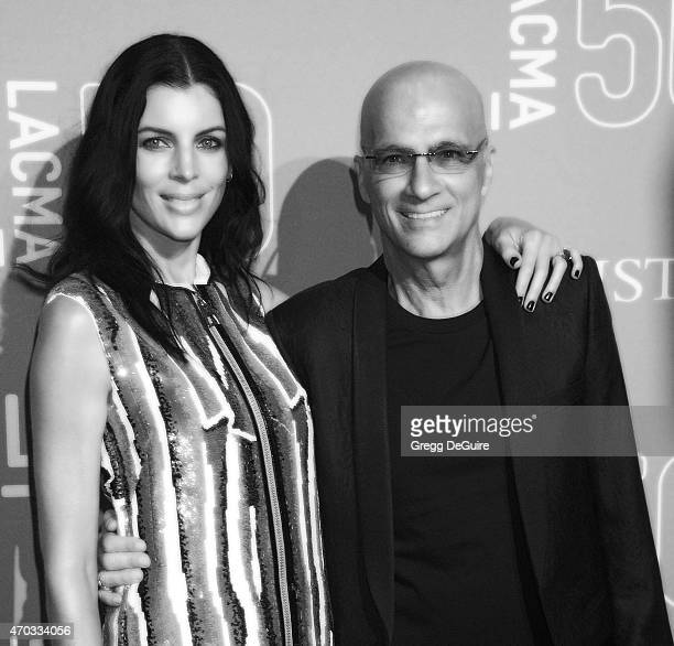 Actress Liberty Ross and Jimmy Iovine arrive at LACMA's 50th Anniversary Gala at LACMA on April 18 2015 in Los Angeles California
