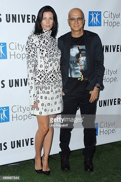 Actress Liberty Ross and Jimmy Iovine arrives at City Of Hope's 2015 Spirit Of Life Gala at Santa Monica Civic Auditorium on November 5 2015 in Santa...