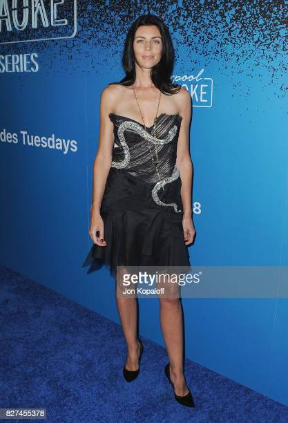 Actress Liberty Ross arrives at 'Carpool Karaoke The Series' On Apple Music Launch Party at Chateau Marmont on August 7 2017 in Los Angeles California