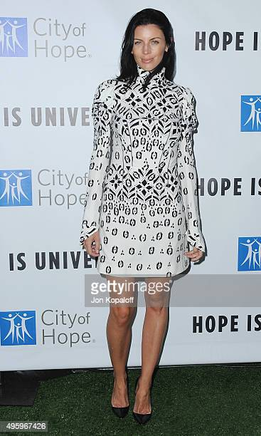 Actress Liberty Ross arrives at City Of Hope's 2015 Spirit Of Life Gala at Santa Monica Civic Auditorium on November 5 2015 in Santa Monica California