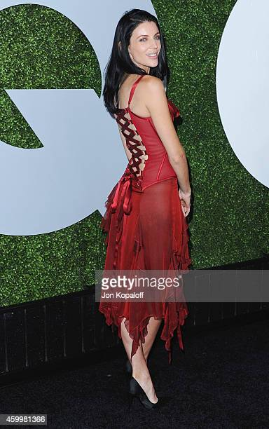 Actress Liberty Ross arrives at the 2014 GQ Men Of The Year Party at Chateau Marmont on December 4 2014 in Los Angeles California