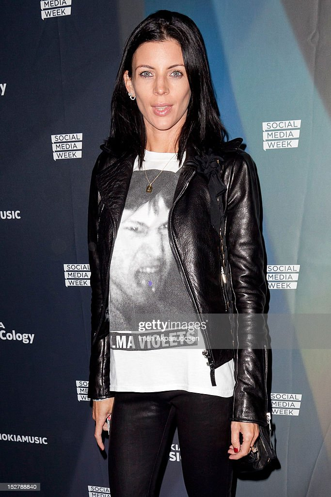Actress Liberty Ross attends a Janelle Monae Nokia Music Launch Concert at Club Nokia with Janelle Monae on September 25, 2012 in Los Angeles, California.