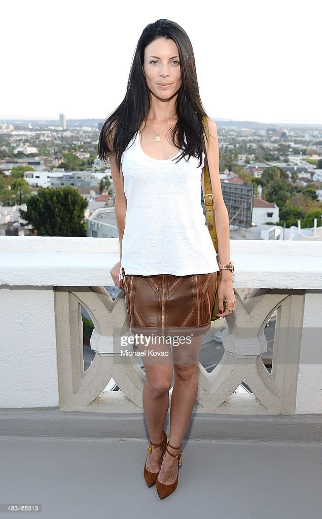 Actress Liberty Ross attends Kate Hudson celebrates the Little Black Dress Collection for Ann Taylor at Chateau Marmont on April 8, 2014 in Los Angeles, California.