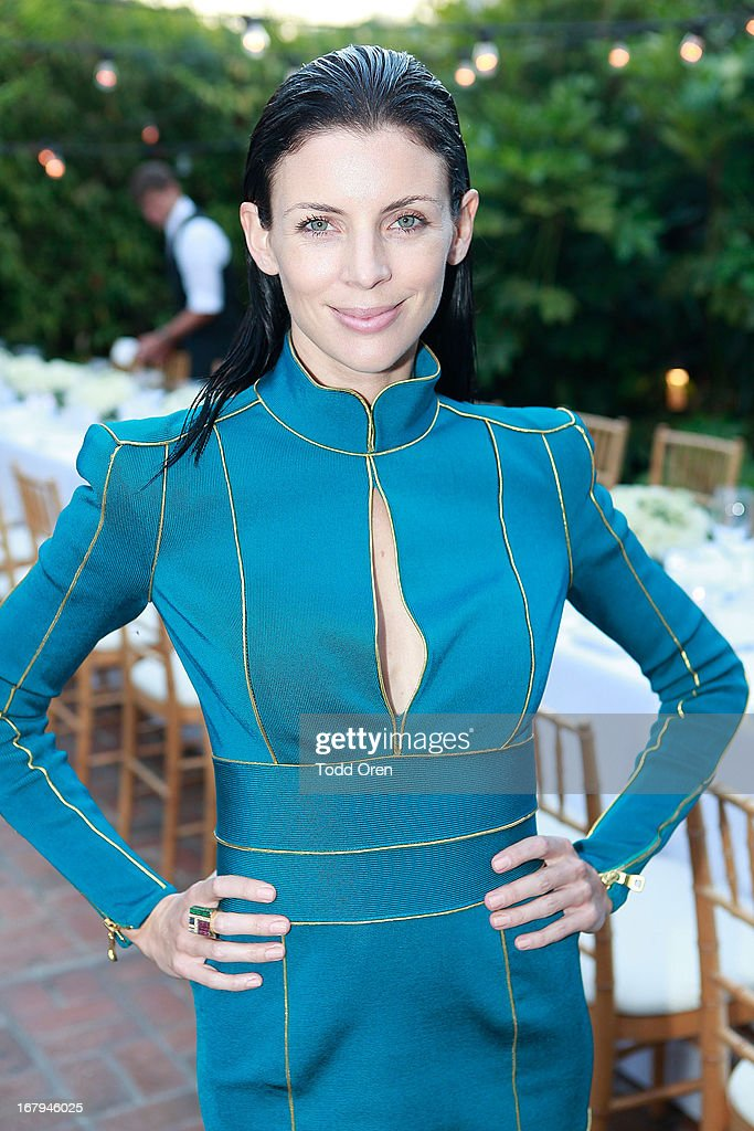 Actress Liberty Ross attends the Balmain LA Dinner at Chateau Marmont on May 2, 2013 in Los Angeles, California.