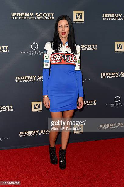 Actress Liberty Ross attends the premiere Of The Vladar Company's 'Jeremy Scott The People's Designer' at TCL Chinese 6 Theatres on September 8 2015...