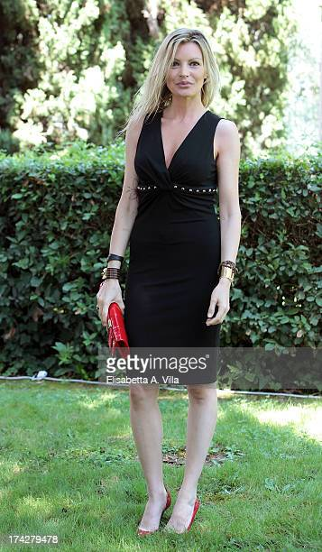 Actress Licia Nunez attends 'La Tre Rose Di Eva 2' photocall at Mediaset Studios on July 23 2013 in Rome Italy
