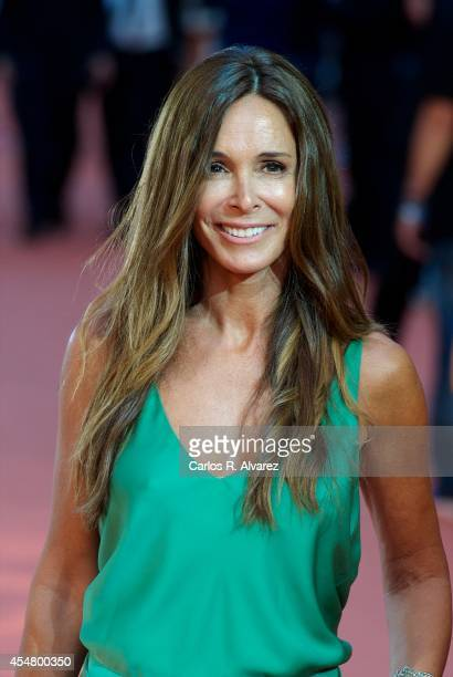 Actress Lidia Bosch attends the 6th FesTVal Television Festival 2014 closing ceremony at the Principal Theater on September 6 2014 in VitoriaGasteiz...