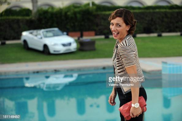 Actress Lidia Vitale attends the...