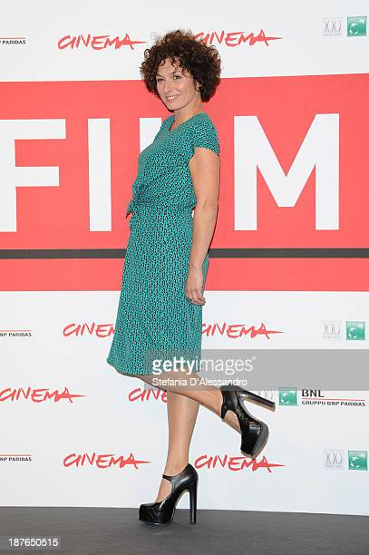 Actress Lidia Vitale attends the 'La Santa' Photocall during the 8th Rome Film Festival at the Auditorium Parco Della Musica on November 11 2013 in...