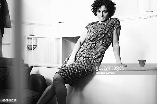 Actress Lidia Vitale is photographed for Self Assignment during the 8th Rome Film Festival on November 9 2013 in Rome Italy