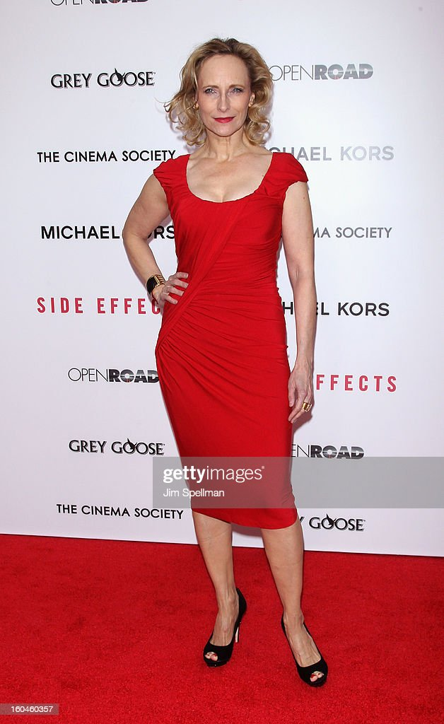Actress Lila Robbins attends the Open Road With The Cinema Society And Michael Kors Host The Premiere Of 'Side Effects' at AMC Lincoln Square Theater on January 31, 2013 in New York City.