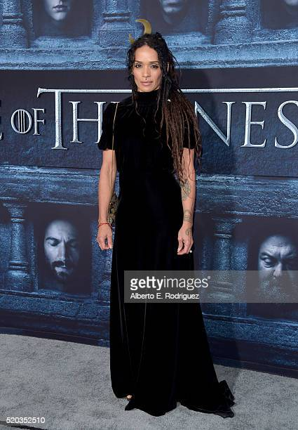 Actress Lilakoi Moon attends the premiere of HBO's 'Game Of Thrones' Season 6 at TCL Chinese Theatre on April 10 2016 in Hollywood California