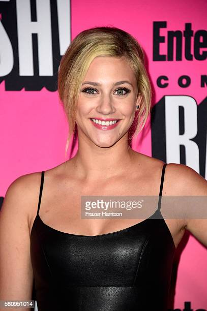 Actress Lili Reinhart attends Entertainment Weekly's ComicCon Bash held at Float Hard Rock Hotel San Diego on July 23 2016 in San Diego California...