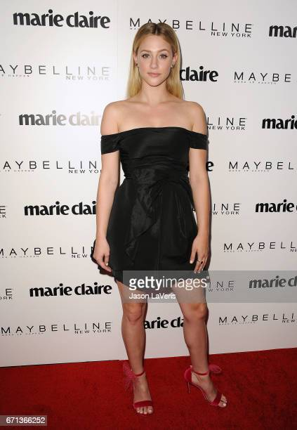Actress Lili Reinhart attends Marie Claire's Fresh Faces event at Doheny Room on April 21 2017 in West Hollywood California