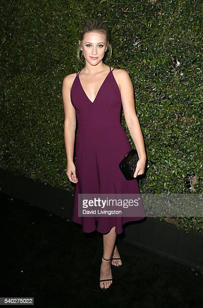 Actress Lili Reinhart attends the 2016 Women In Film Max Mara Face of the Future celebrating Natalie Dormer at Chateau Marmont on June 14 2016 in Los...