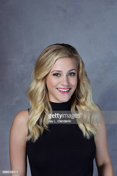 Actress Lili Reinhart of ' Riverdale' is photographed for Los Angeles Times at San Diego Comic Con on July 22 2016 in San Diego California