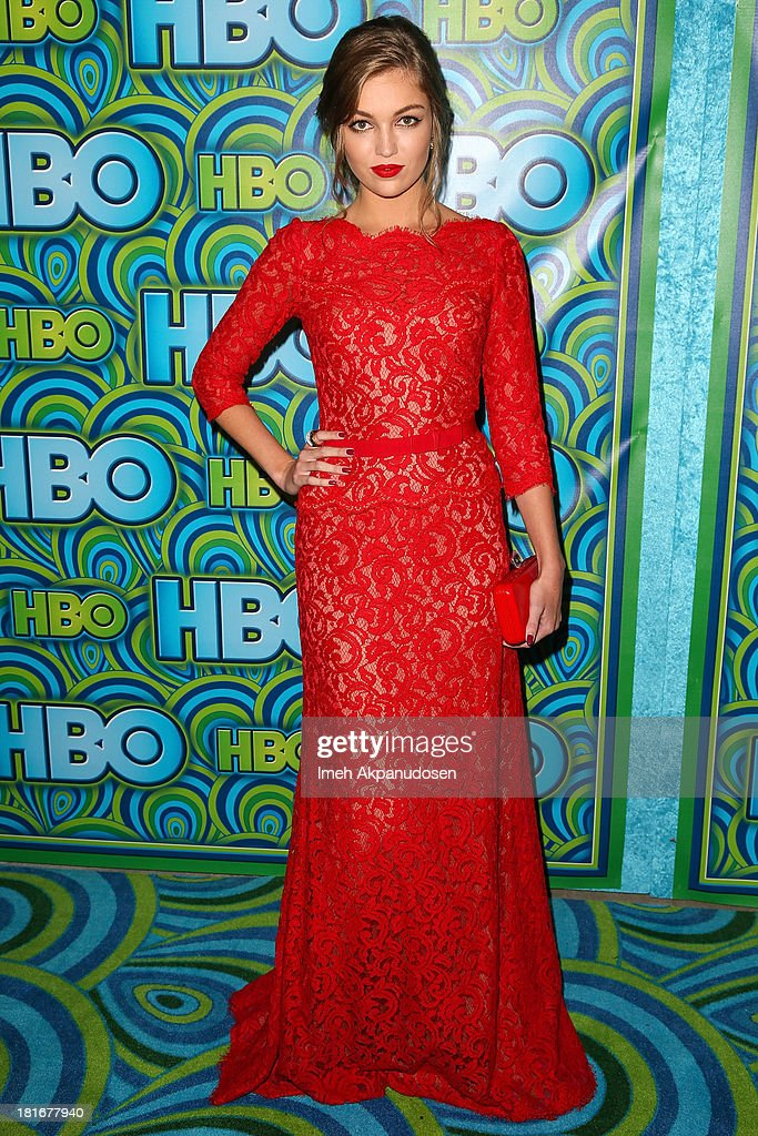 Actress Lili Simmons attends HBO's Annual Primetime Emmy Awards Post Award Reception at The Plaza at the Pacific Design Center on September 22, 2013 in Los Angeles, California.