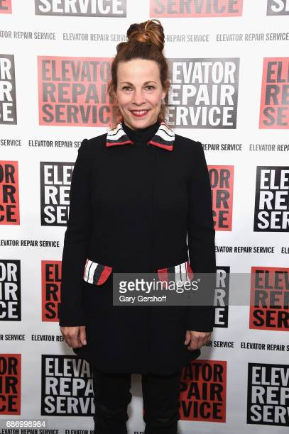Actress Lili Taylor attends the Elevator Repair Service Theater 25th Anniversary gala at Tribeca Rooftop on May 22 2017 in New York City