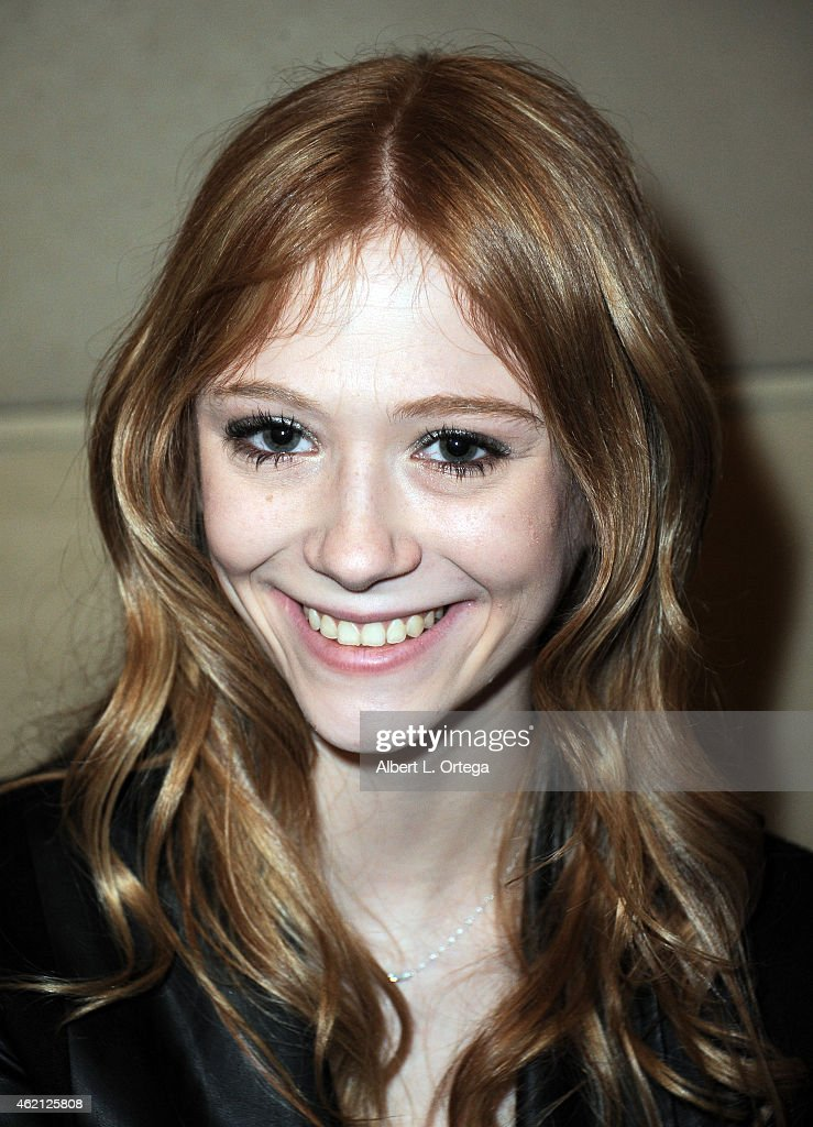 Actress Liliana Mumy at The Hollywood Show held at The Westin Hotel LAX on January 24, 2015 in Los Angeles, California.