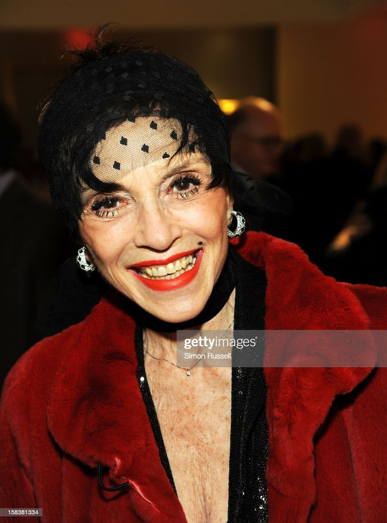 Actress Liliane Montevesshi attends the Same Sky Holiday Benefit Reception at Ana Tzarev Gallery on December 14, 2012 in New York City.