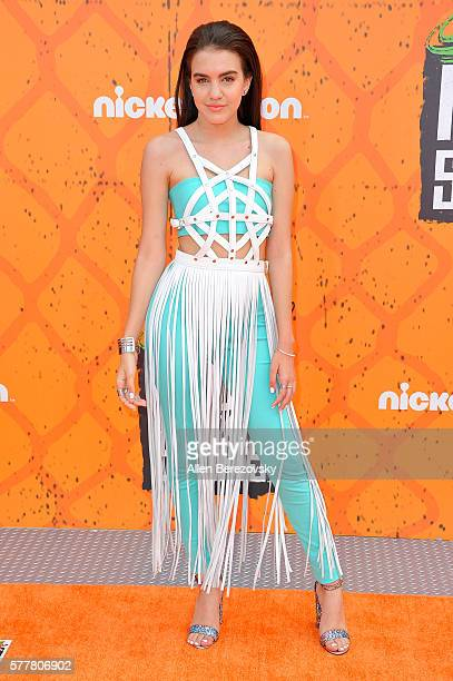 Actress Lilimar arrives at the Nickelodeon Kids' Choice Sports Awards 2016 at UCLA's Pauley Pavilion on July 14 2016 in Westwood California