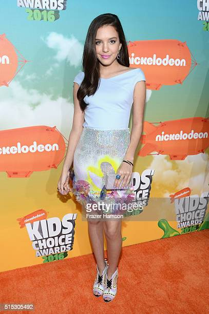 Actress Lilimar Hernandez attends Nickelodeon's 2016 Kids' Choice Awards at The Forum on March 12 2016 in Inglewood California