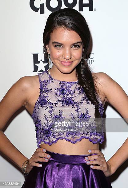 Actress Lilimar Hernandez attends the 2015 Latinos De Hoy Awards at the Dolby Theatre on October 11 2015 in Hollywood California