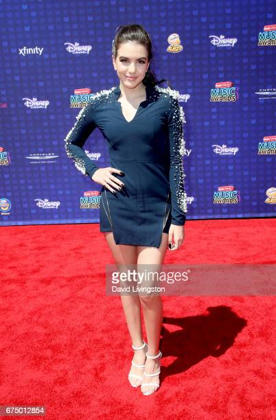 Actress Lilimar Hernandez attends the 2017 Radio Disney Music Awards at Microsoft Theater on April 29 2017 in Los Angeles California