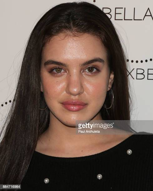 Actress Lilimar Hernandez attends the launch party for the Dove x BELLAMI collection at Unici Casa Gallery on December 2 2017 in Culver City...