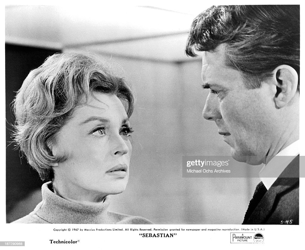Actress Lilli Palmer and actor Dirk Bogarde on set of the Paramount Picture movie 'Sebastian' in 1968. Show more - actress-lilli-palmer-and-actor-dirk-bogarde-on-set-of-the-paramount-picture-id187290988