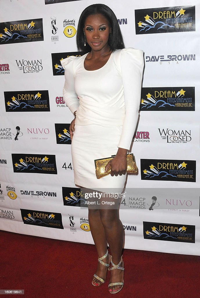 Actress Lillian Lee arrives for the NAACP Image Awards Nomination Party featuring 'Woman Thou Art Loosed On THe 7th Day' for Best Independent Motion Picture held at Smoke on January 26, 2013 in West Hollywood, California.