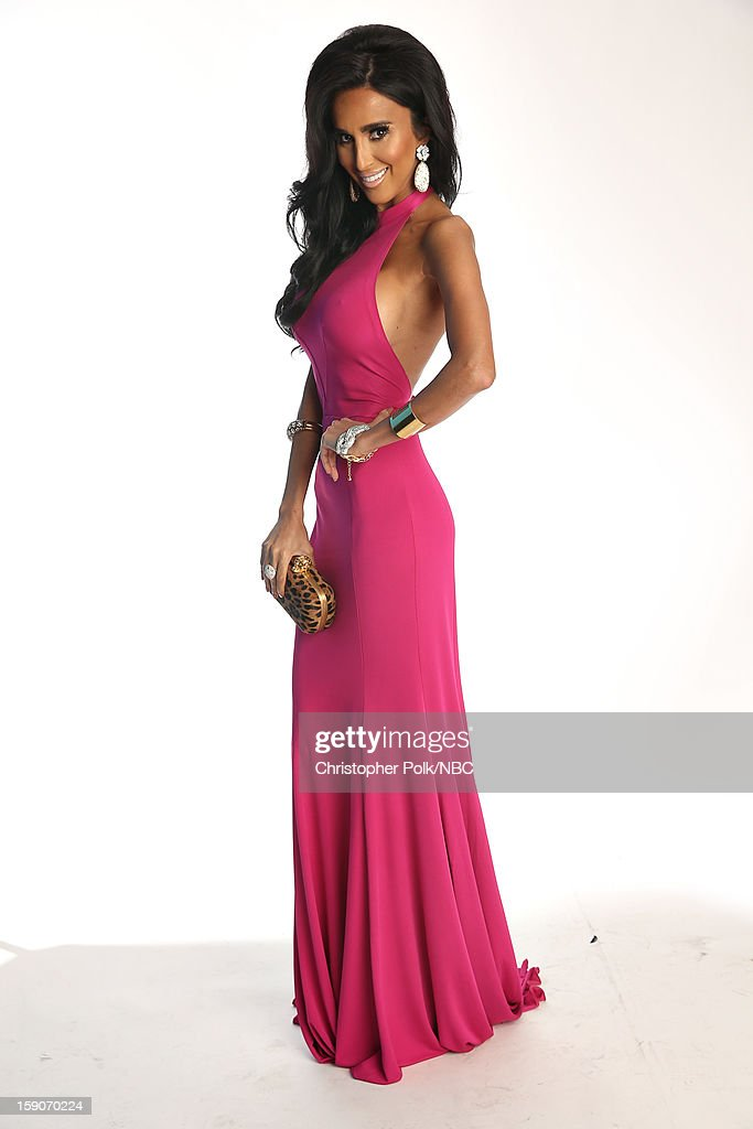 Actress Lilly Ghalichi attends the NBCUniversal 2013 TCA Winter Press Tour at The Langham Huntington Hotel and Spa on January 6, 2013 in Pasadena, California.