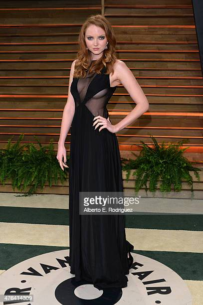 Actress Lily Cole attends the 2014 Vanity Fair Oscar Party hosted by Graydon Carter on March 2 2014 in West Hollywood California