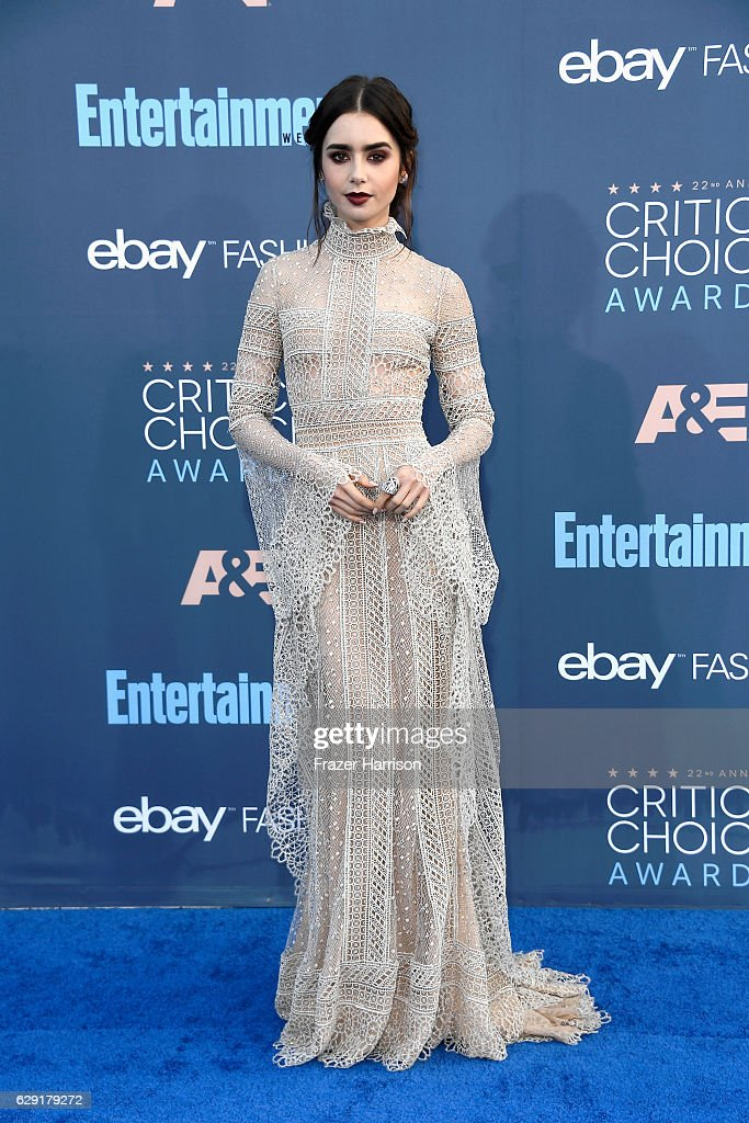 actress-lily-collins-attends-the-22nd-annual-critics-choice-awards-at-picture-id629179272