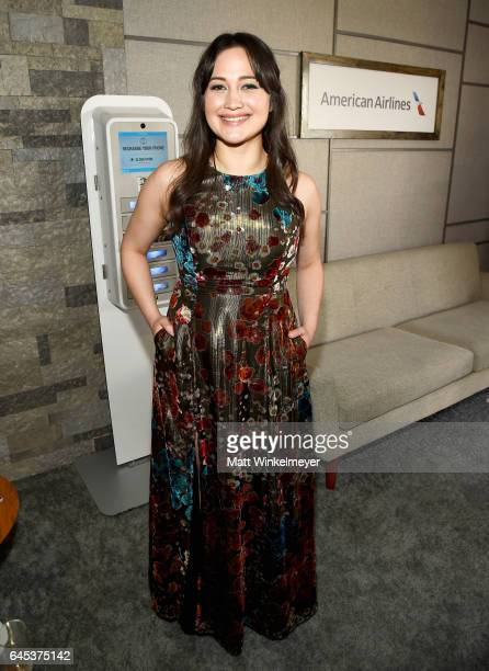 Actress Lily Gladstone attends the 2017 Film Independent Spirit Awards at the Santa Monica Pier on February 25 2017 in Santa Monica California