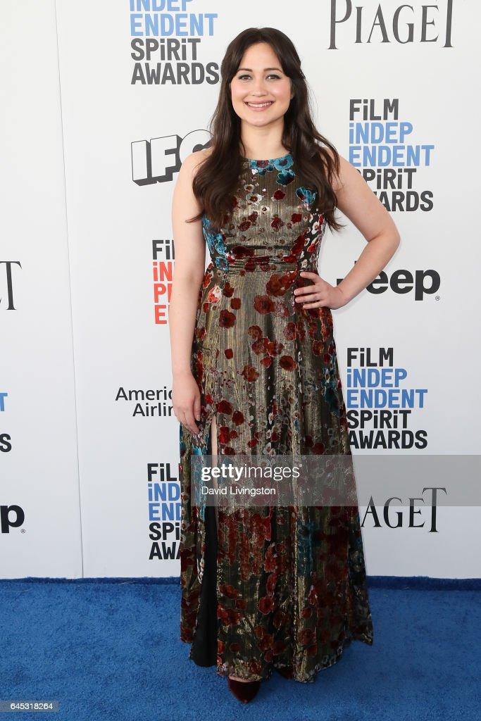 2017 Film Independent Spirit Awards  - Arrivals