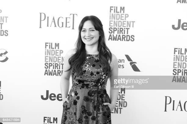 Actress Lily Gladstone attends the 2017 Film Independent Spirit Awards on February 25 2017 in Santa Monica California
